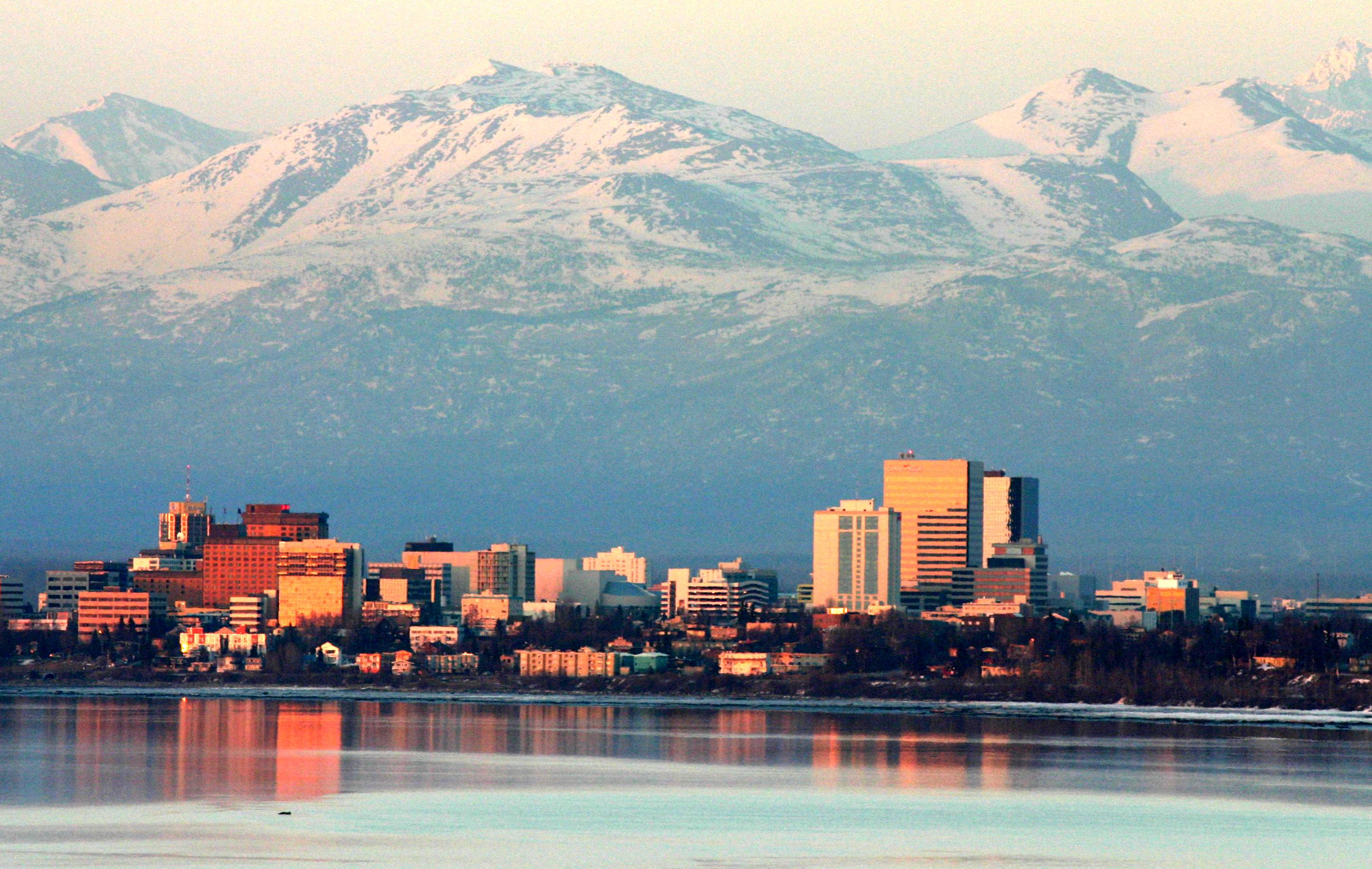 Anchorage by Evening